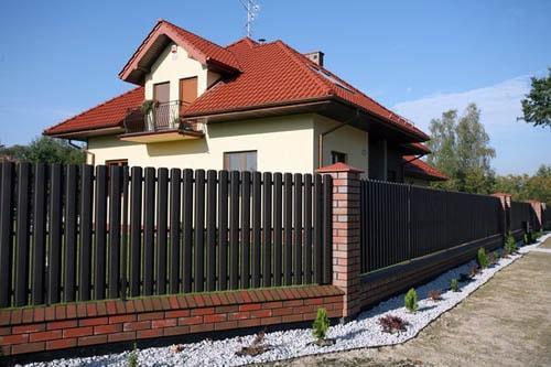 Забор без забот из штакетника