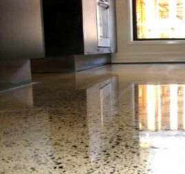 Купить полированный бетон черепаха в бетоне