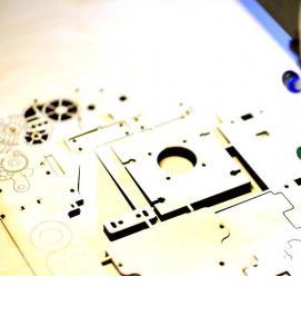 Заказать лазерную резку фанеры в г.Иваново от 52 руб. за погонный метр
