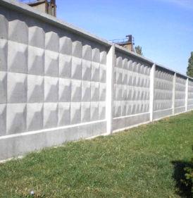 купить забор из бетона в самаре
